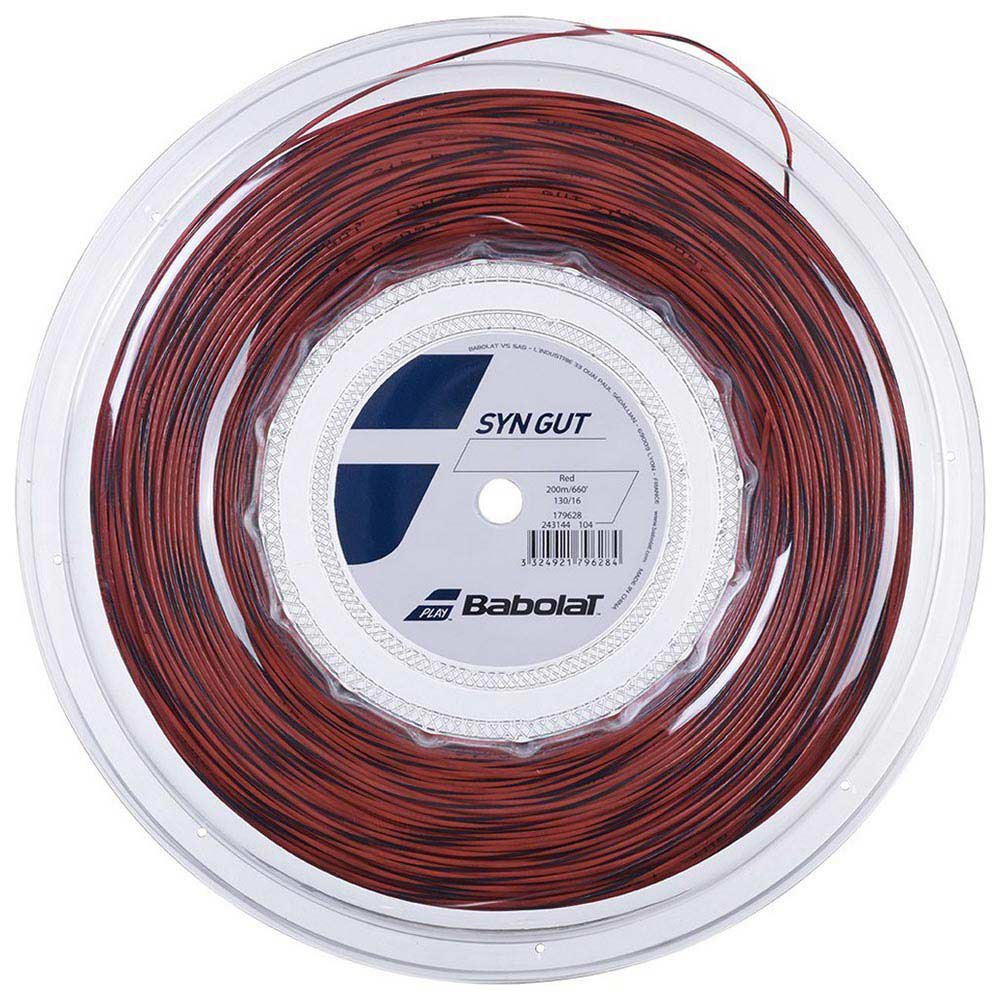 Babolat Synthetic Gut 200 M 1.30 mm Red