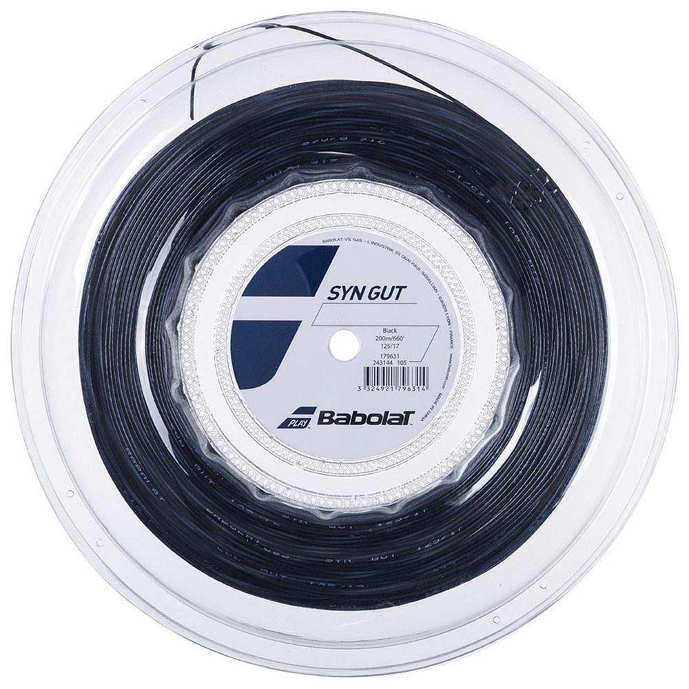 Babolat Synthetic Gut 200 M 1.30 mm Black