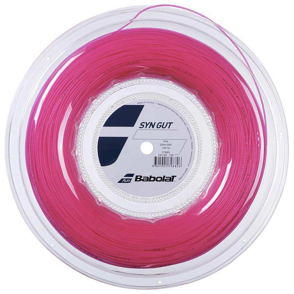 Babolat Synthetic Gut 200 M 1.30 mm Pink