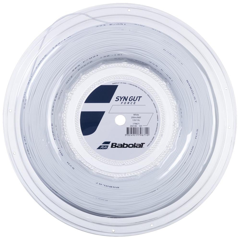 Babolat Synthetic Gut Force 200 M 1.35 mm White