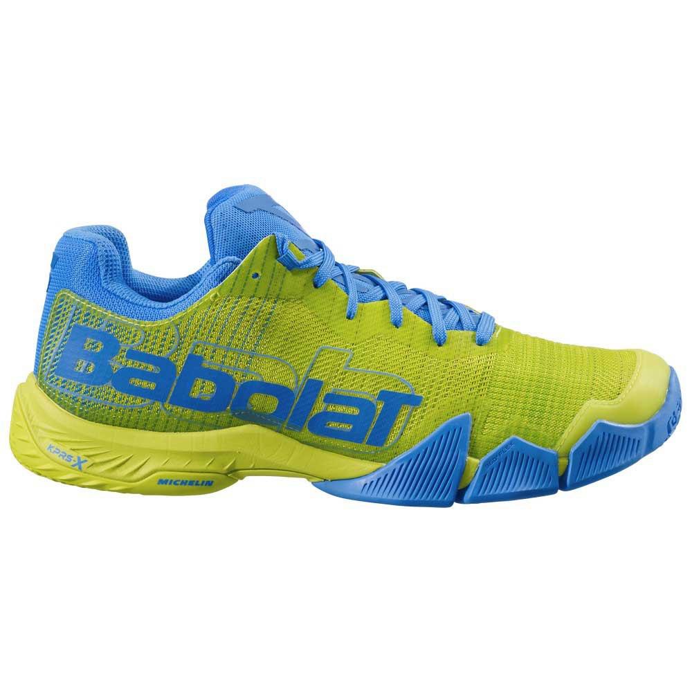 Babolat Chaussures Jet Premura EU 46 1/2 Sulphur Spring / Blue