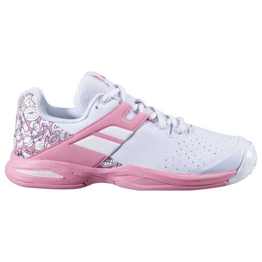 Babolat Propulse All Court EU 33 White / White / Geranium Pink
