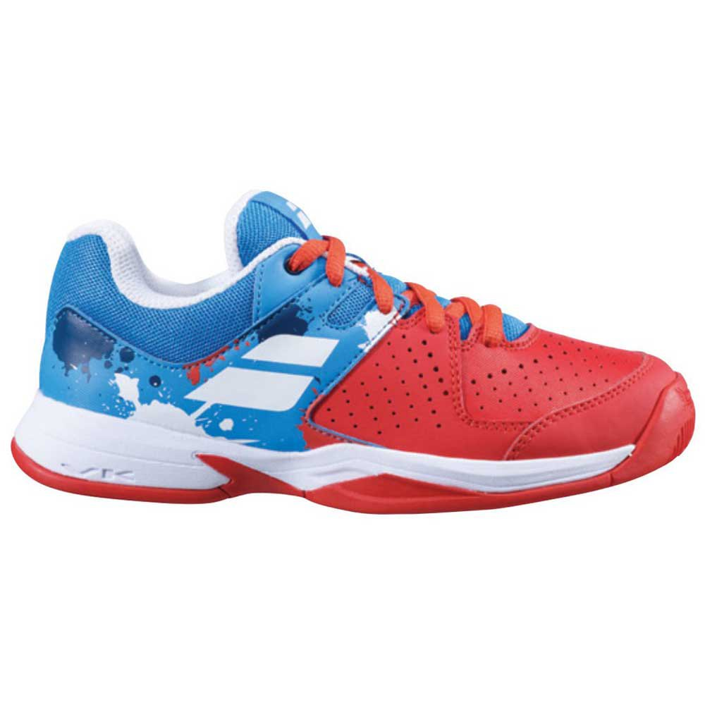 Babolat Pulsion All Court Junior EU 32 Tomato Red / Blue Aster