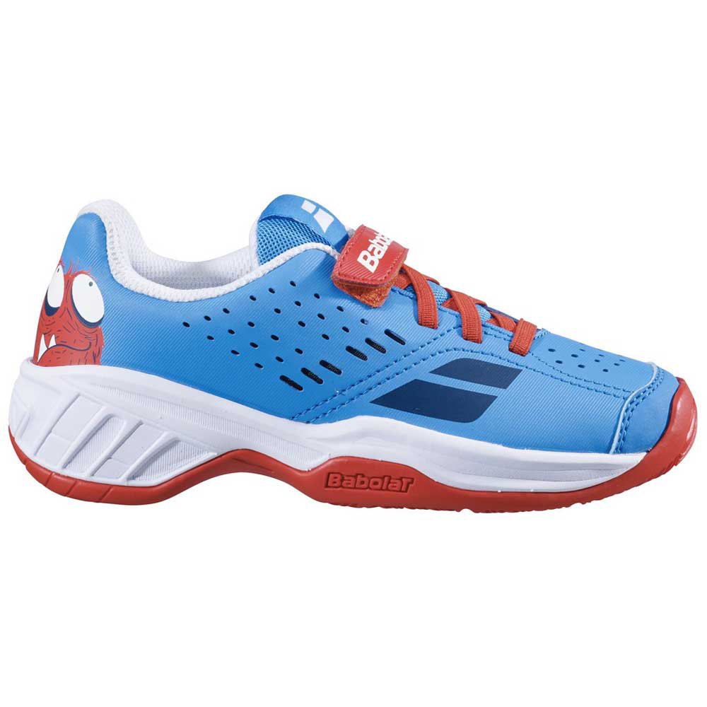 Babolat Pulsion All Court Kid EU 32 Tomato Red / Blue Aster