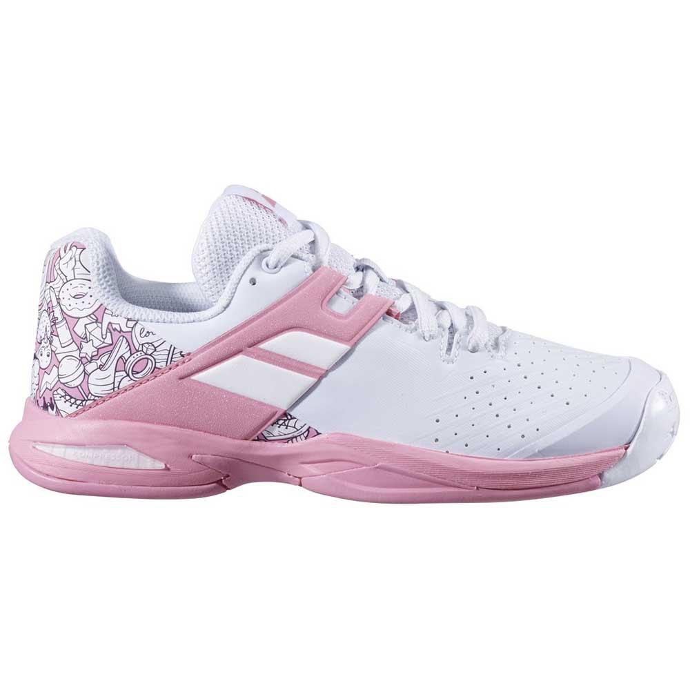 Babolat Propulse All Court EU 39 White / Geranium Pink