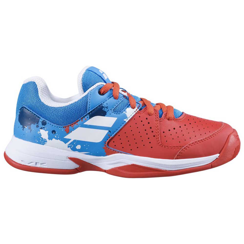Babolat Pulsion Clay EU 39 Tomato Red / Blue Aster