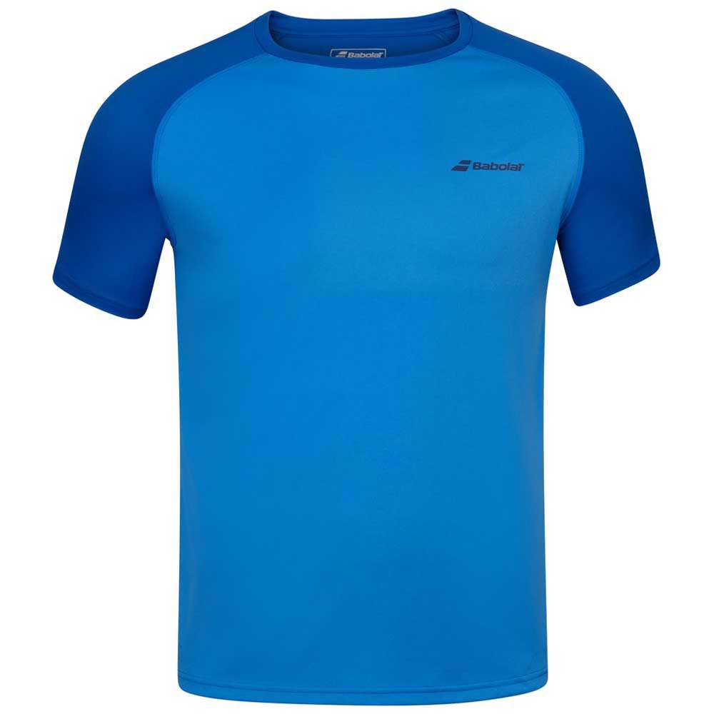 Babolat Play Crew Neck 6-8 Years Blue Aster
