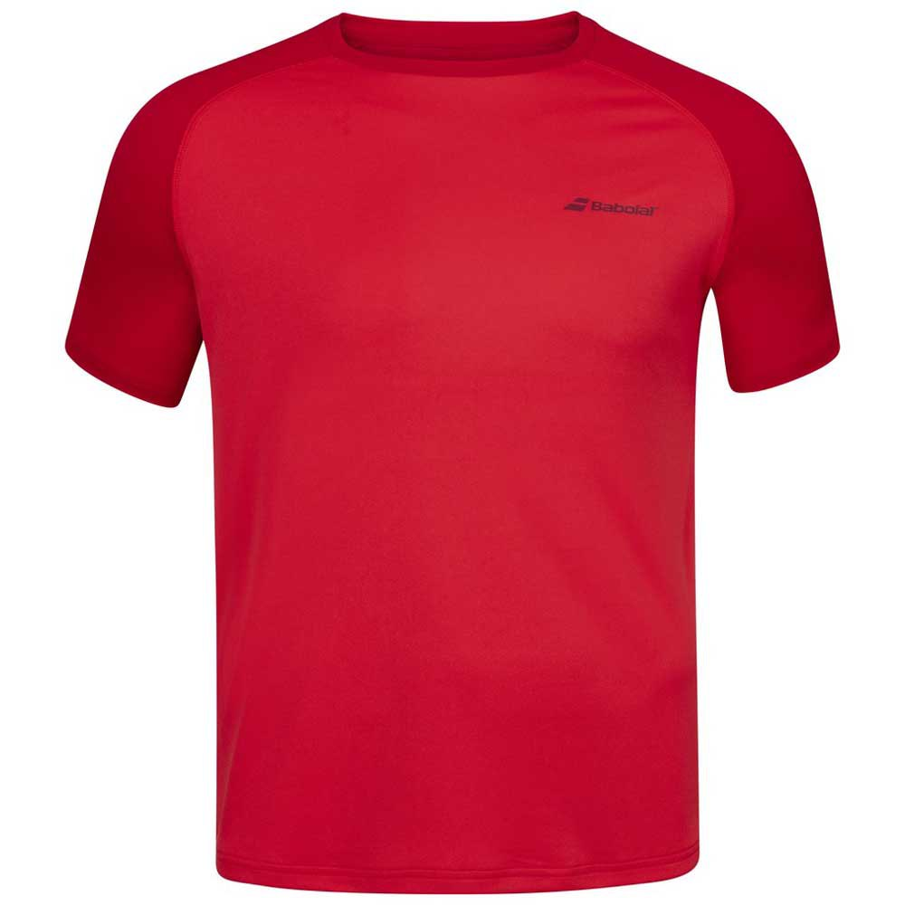 Babolat Play Crew Neck 8-10 Years Tomato Red