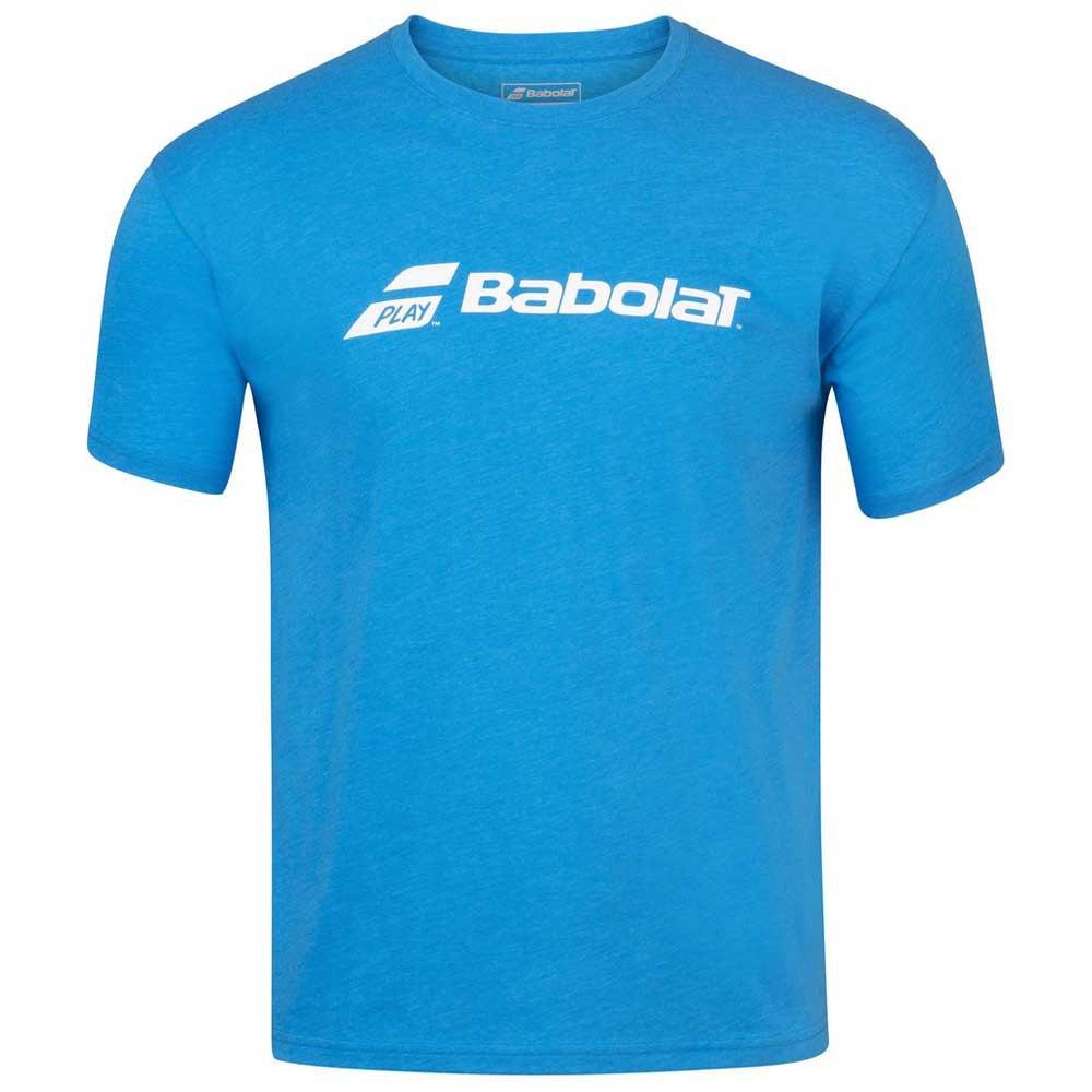 Babolat Exercise Logo 8-10 Years Blue Aster Heather