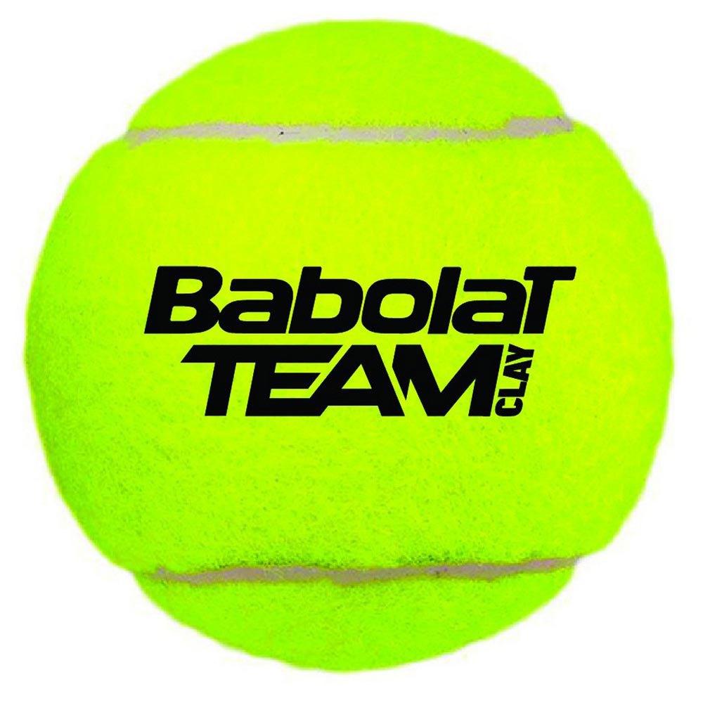 Babolat Team Clay 4 Balls Yellow