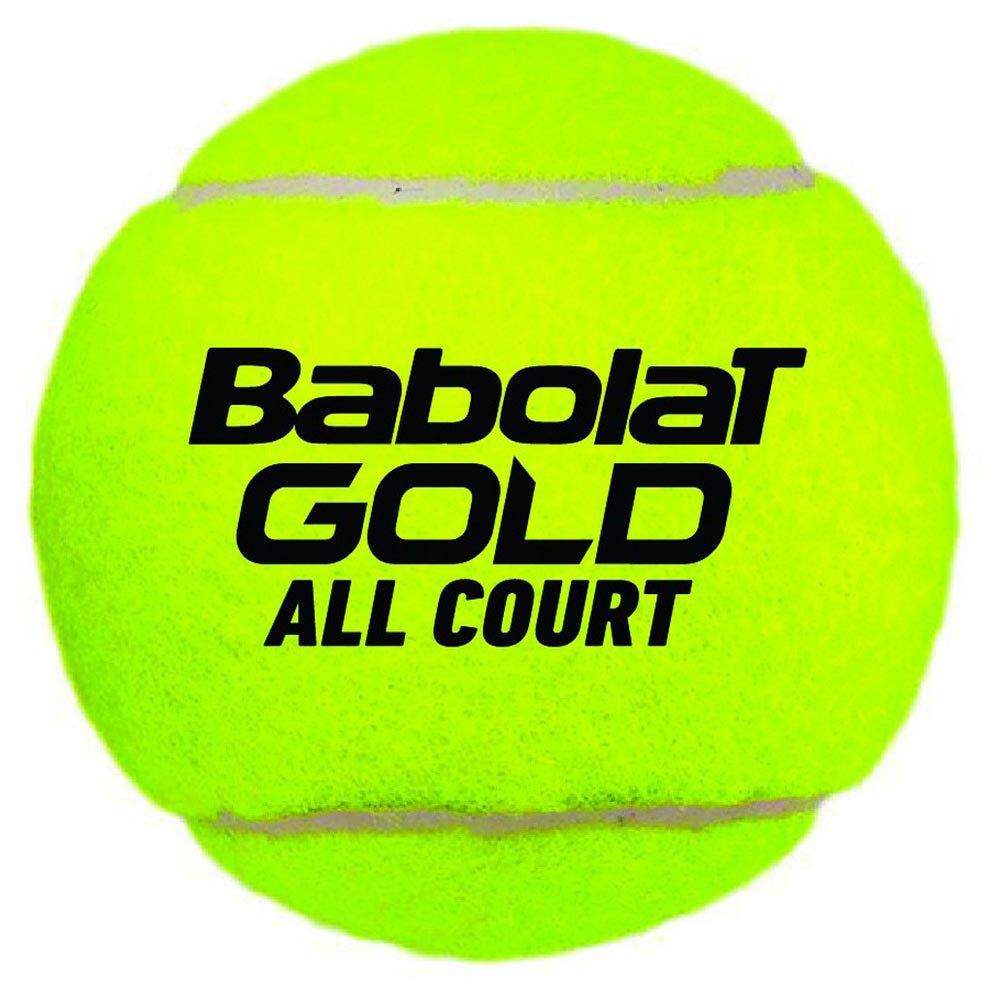 Babolat Gold All Court 3 Balls Yellow
