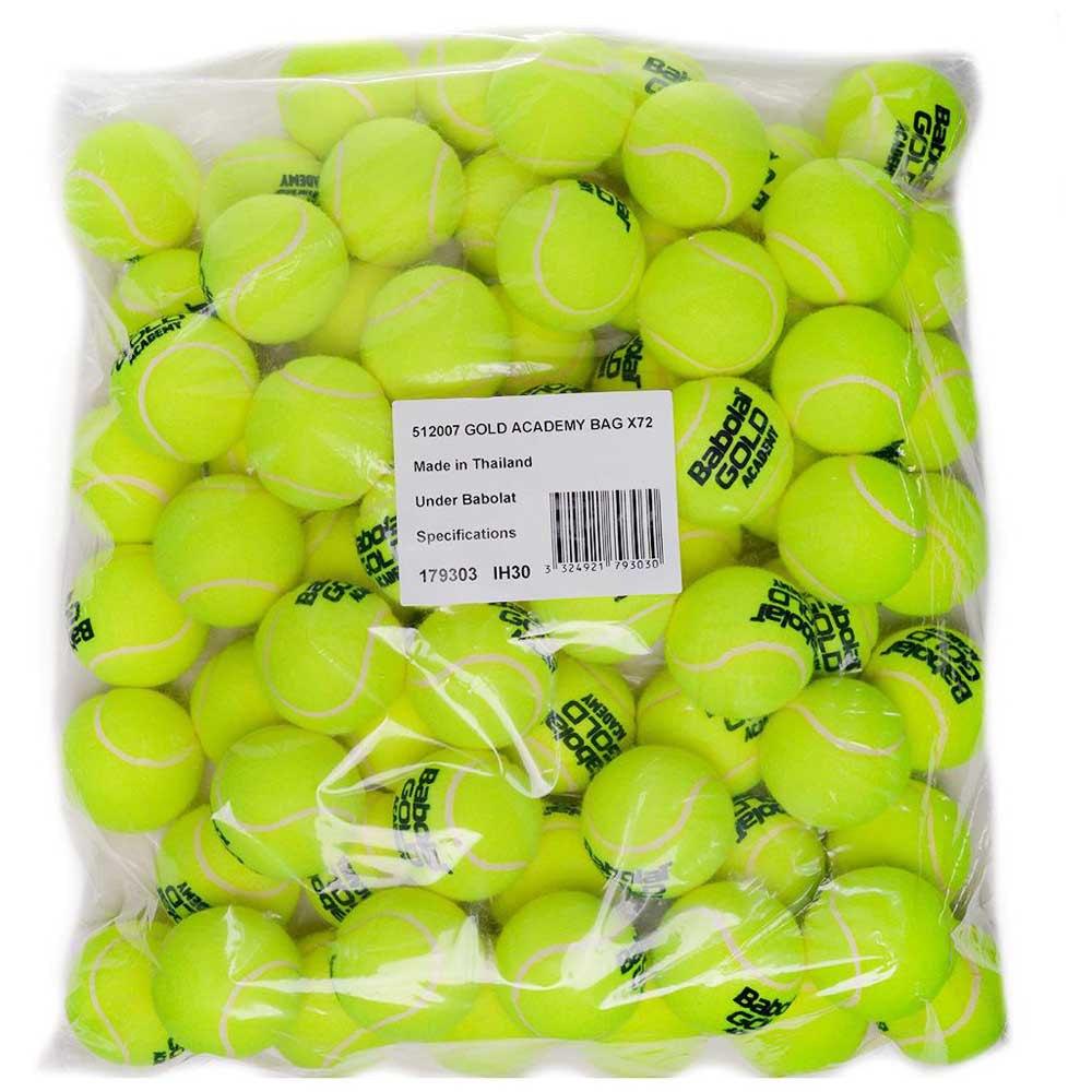 Babolat Gold Academy Bag 72 Balls Yellow
