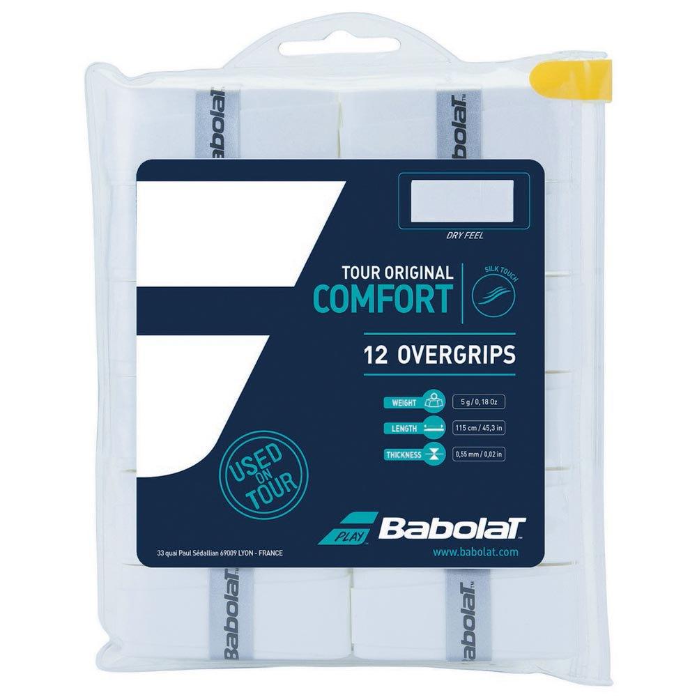 Babolat Surgrip Tennis Tour Original 12 Unités One Size White