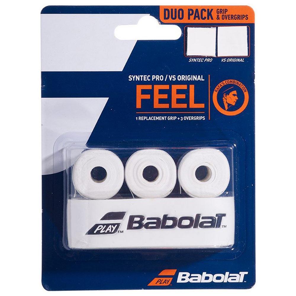 Babolat Syntex Pro 1 Unit+vs Original 3 Units One Size White