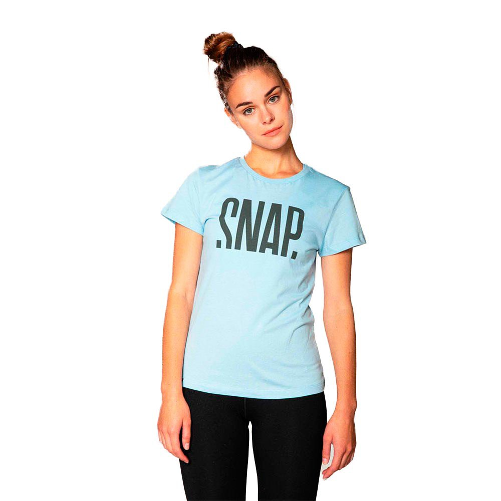 Snap Climbing T-shirt Manche Courte Logo XS Light Blue