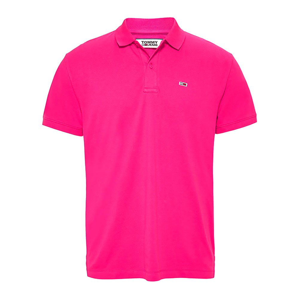 Tommy Jeans Classics Solid Stretch S Bright Cerise Pink