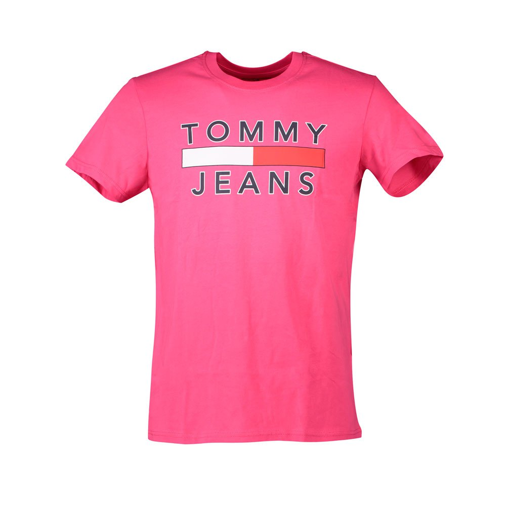 Tommy Jeans Logo L Bright Cerise Pink