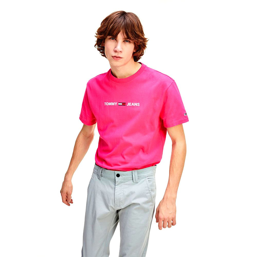 Tommy Jeans Essential Logo L Bright Cerise Pink