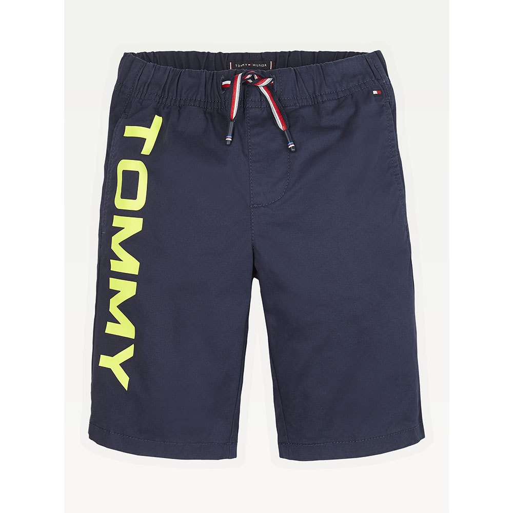 Tommy Hilfiger Kids Pull On Logo 10 Years Twilight Navy 654-860