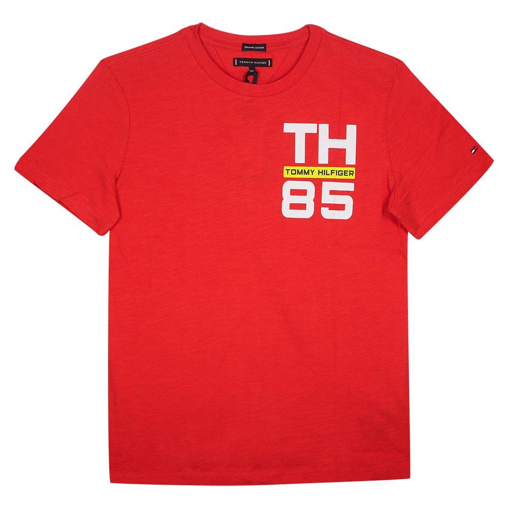 Tommy Hilfiger Kids 85 Logo 10 Years Deep Crimson 106-880