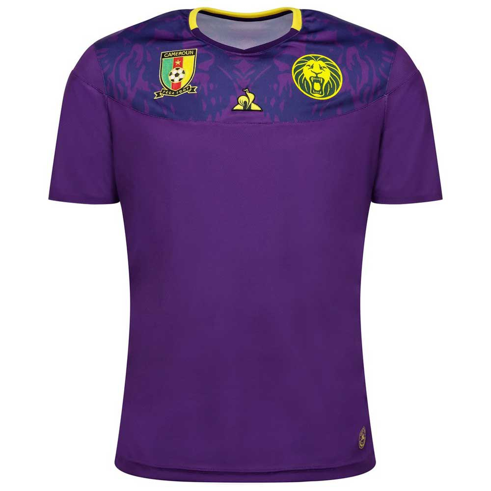 Le Coq Sportif T-shirt Cameroun Pro Wc 2020 L Cyber Grape