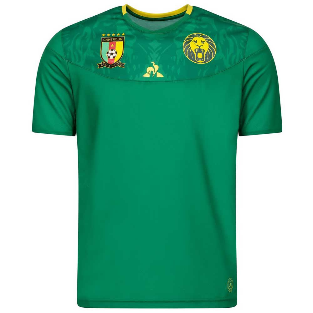 Le Coq Sportif T-shirt Cameroun Domicile Replica Africa Nations Cup 2021 S Green Forez