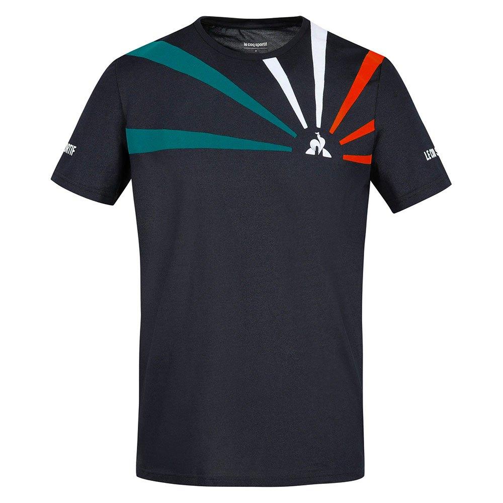 Le Coq Sportif T-shirt Manche Courte Tennis 20 Nº1 L Sky Captain