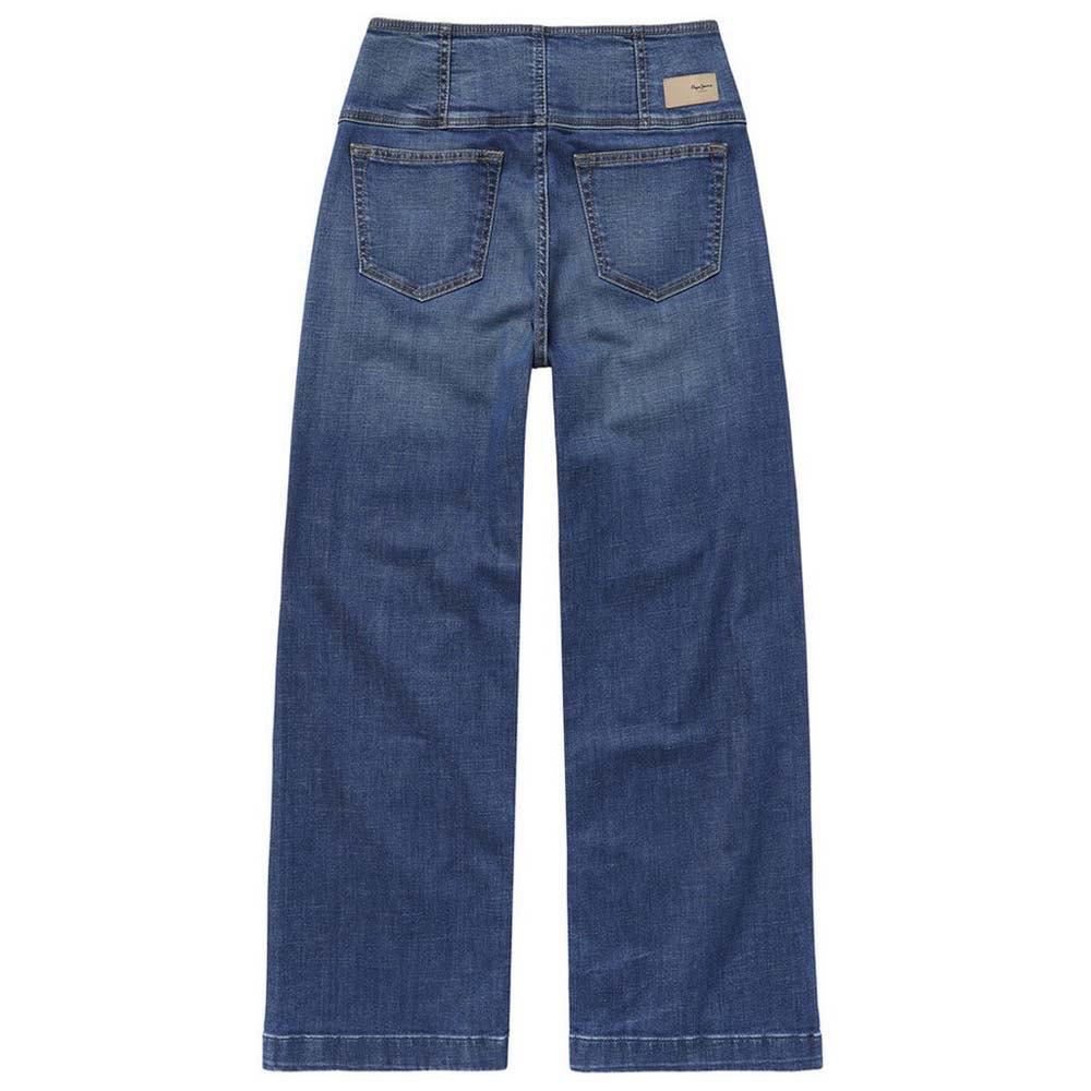 Pepe Jeans Everly Pantalones Ropa Mujer Azul Ebay