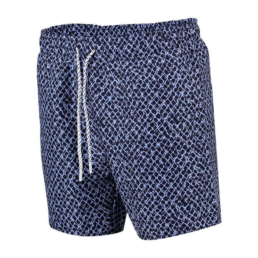 Lacoste Urban Design Swim Shorts M Marine / Purpy