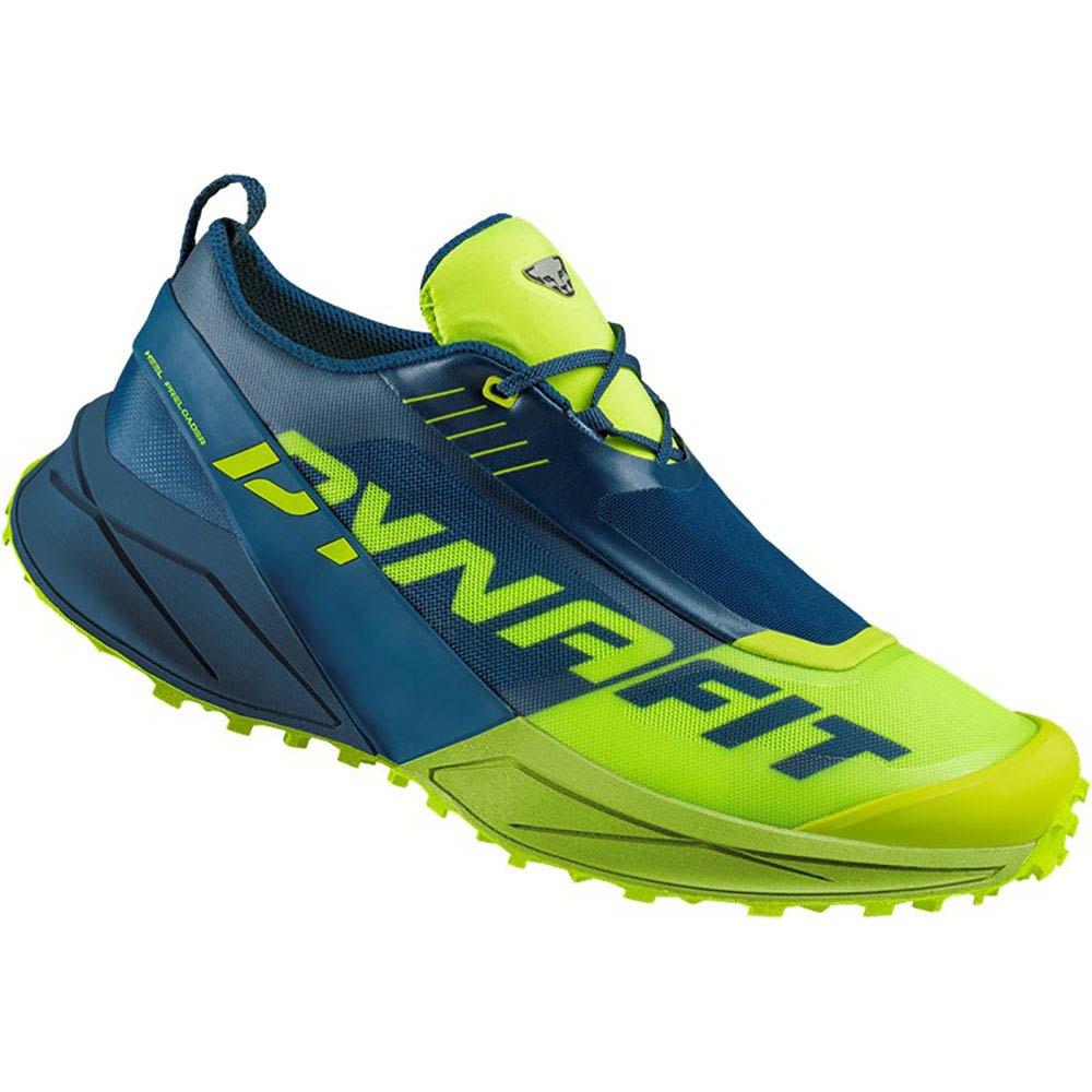 Dynafit Ultra 100 EU 44 1/2 Poseidon / Fluo Yellow
