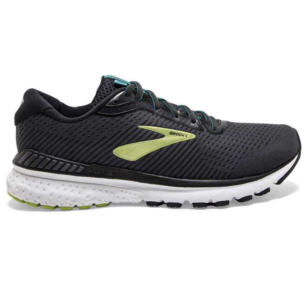 Brooks Adrenaline Gts 20 EU 48 1/2 Black / Lime / Blue Grass