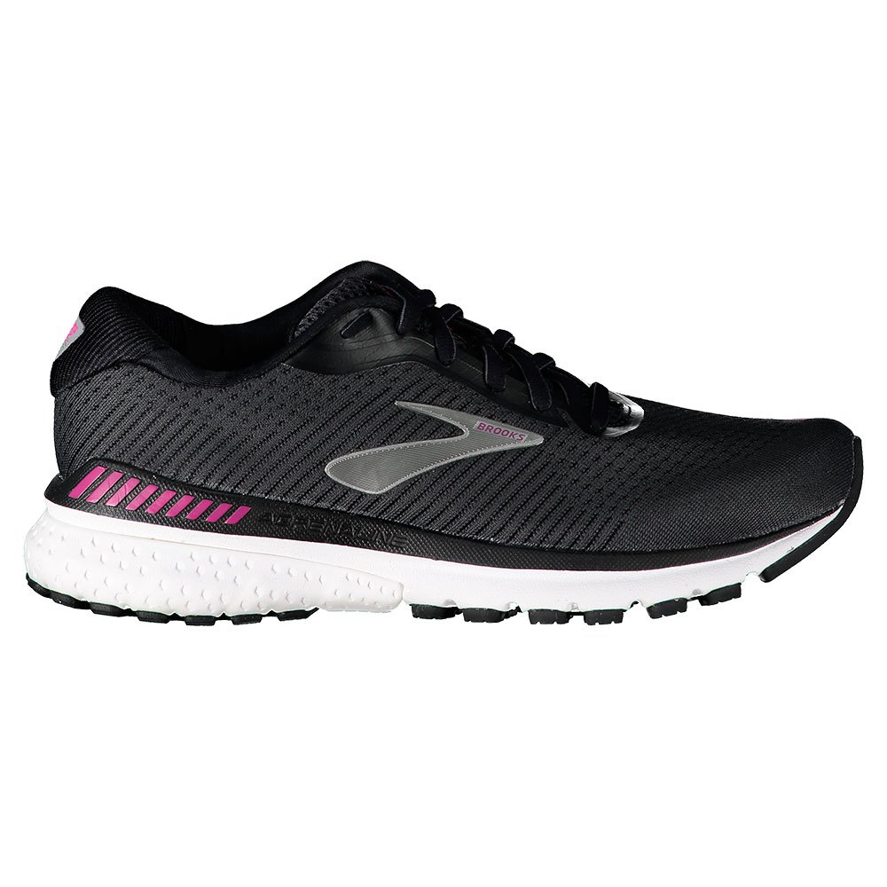 Brooks Adrenaline Gts 20 EU 35 1/2 Black / White / Hollyhock