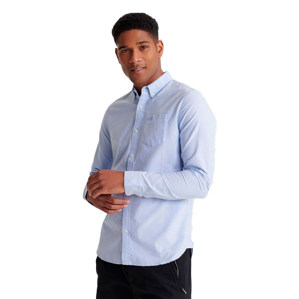 Superdry Classic University Oxford XS Classic Blue