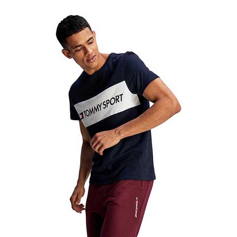 Tommy Hilfiger Sportswear Colour-blocked Logo M Desert Sky