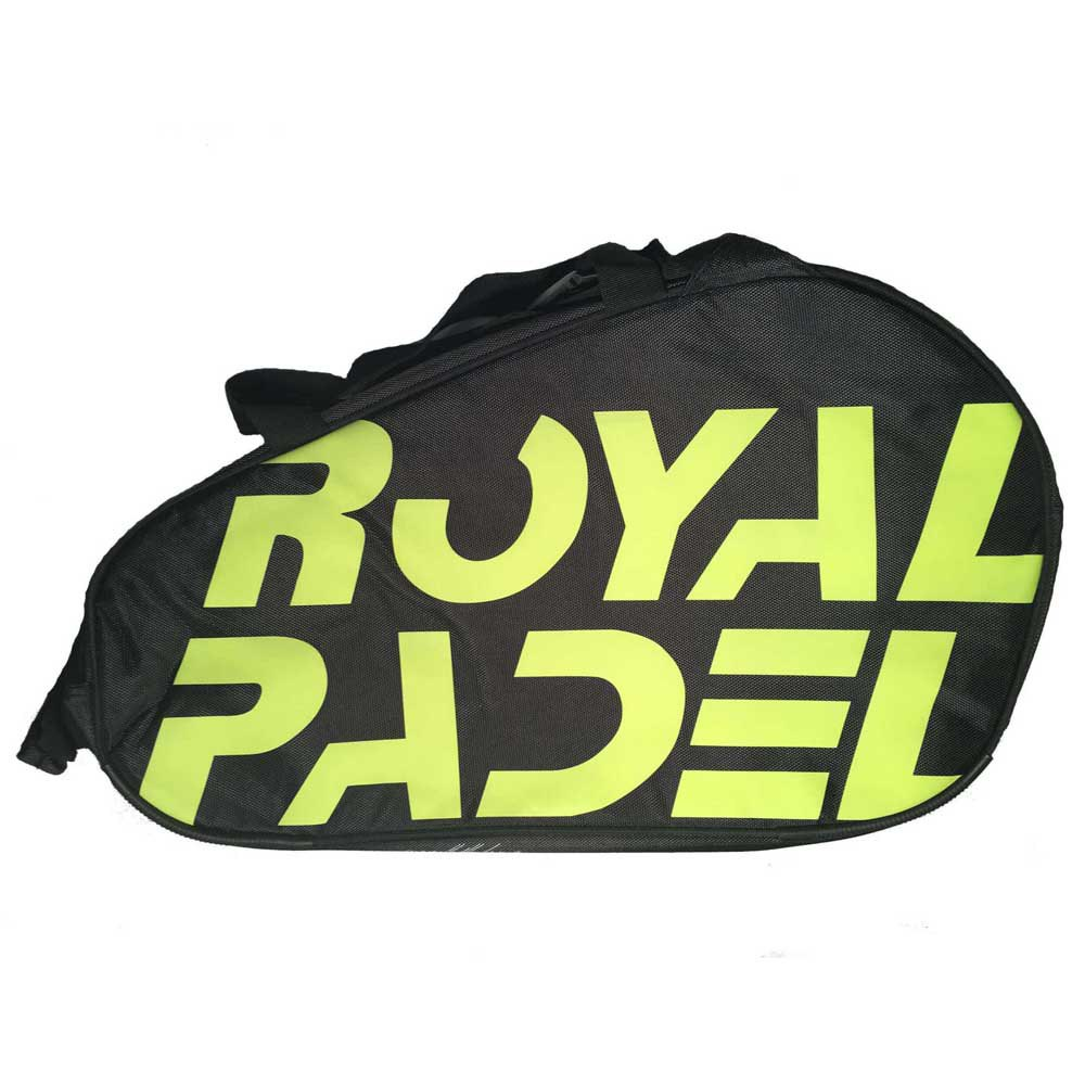 Royal Padel Logo One Size Black / Yellow