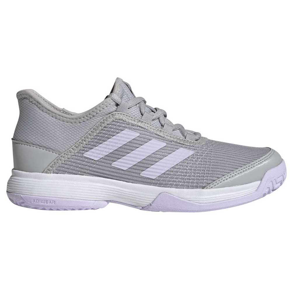 Adidas Chaussures Adizero Club Enfant EU 35 1/2 Grey Two / Purple Tint / Footwear White