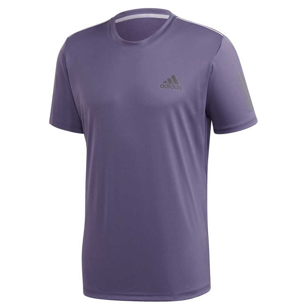 Adidas Badminton Club 3 Stripes XL Tech Purple / Grey Six