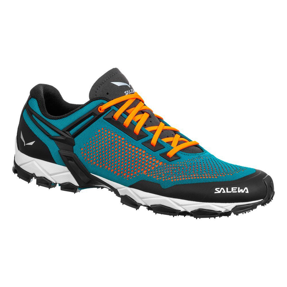 Salewa Lite Train K EU 44 1/2 Malta / Fluo Orange