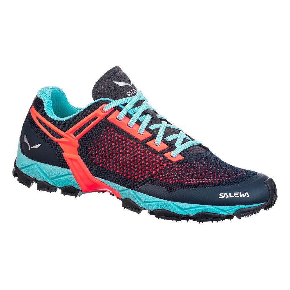 Salewa Lite Train K EU 35 Premium Navy / Fluo Coral