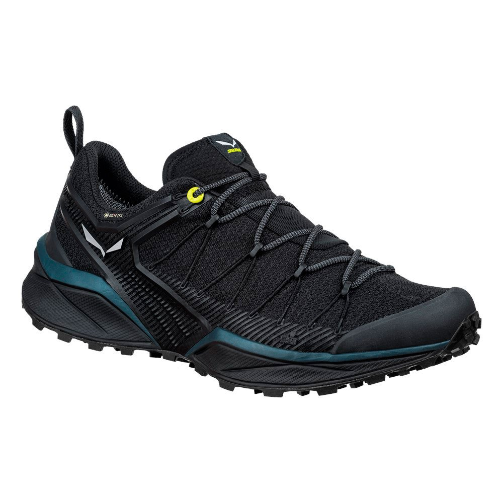 Salewa Dropline Goretex EU 44 1/2 Black Out / Fluo Yellow