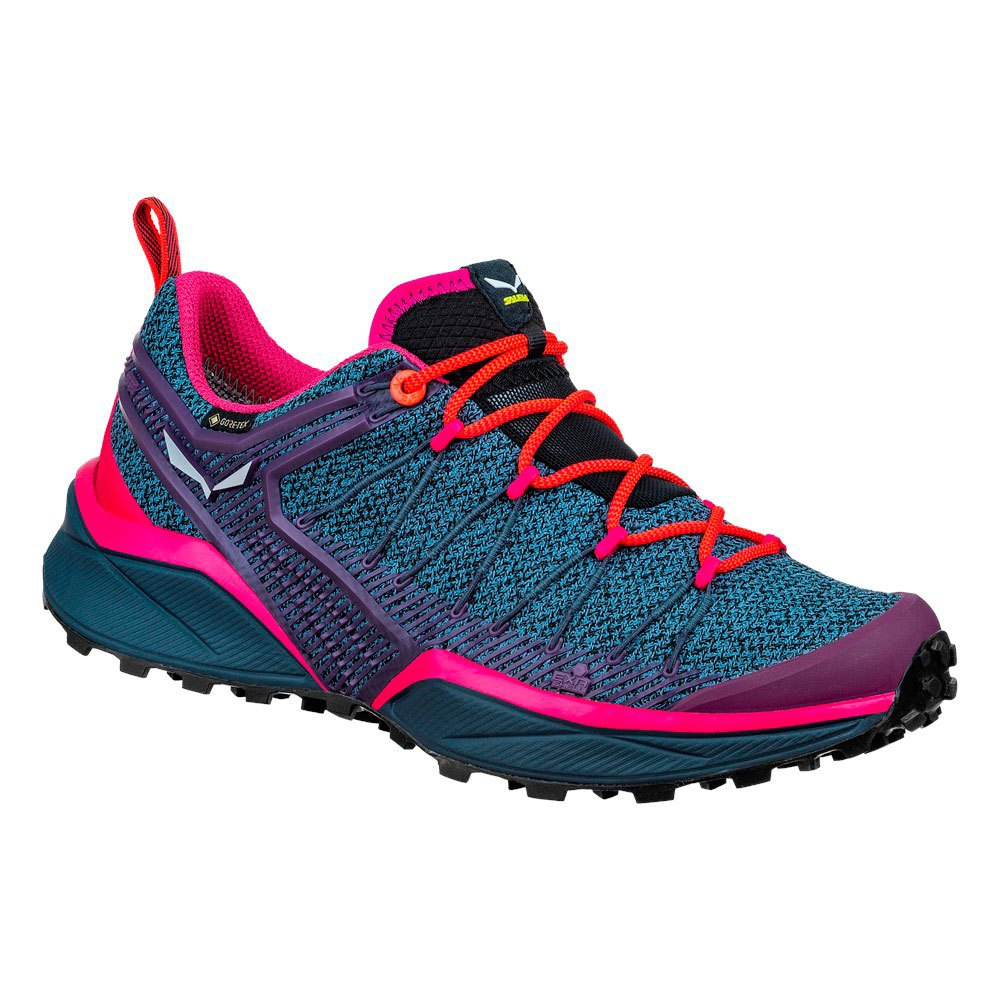 Salewa Dropline Goretex EU 35 Ombre Blue / Virtual Pink