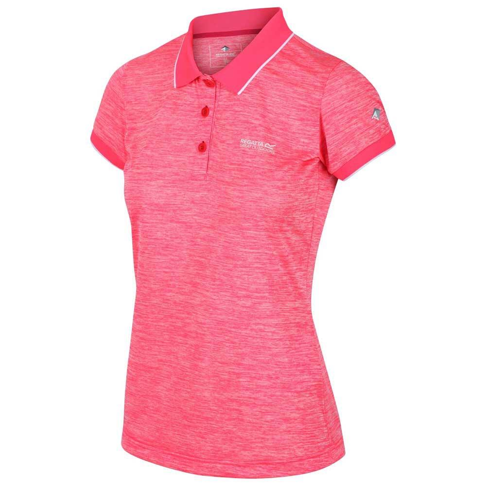 Regatta Polo Manche Courte Remex Ii 8 Neon Pink Strawberry
