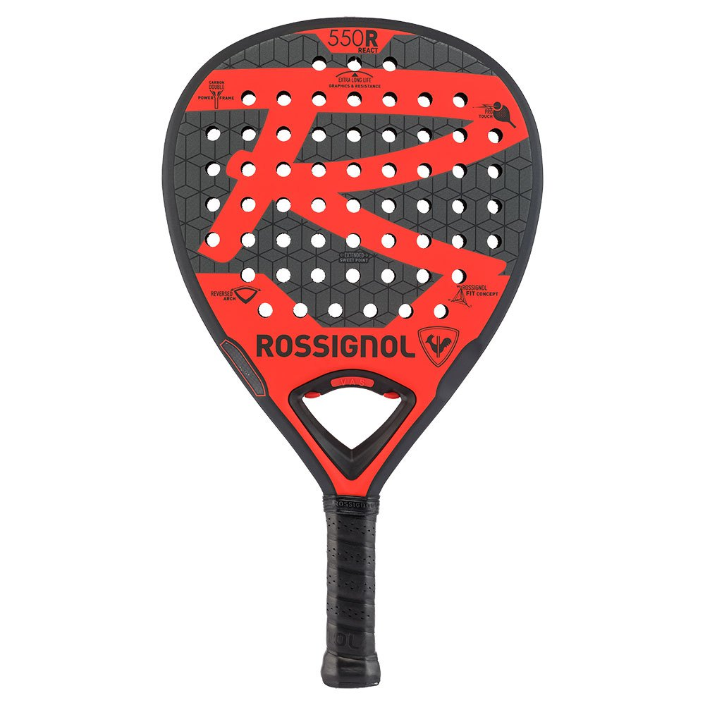 Rossignol F550 React One Size Red / Black