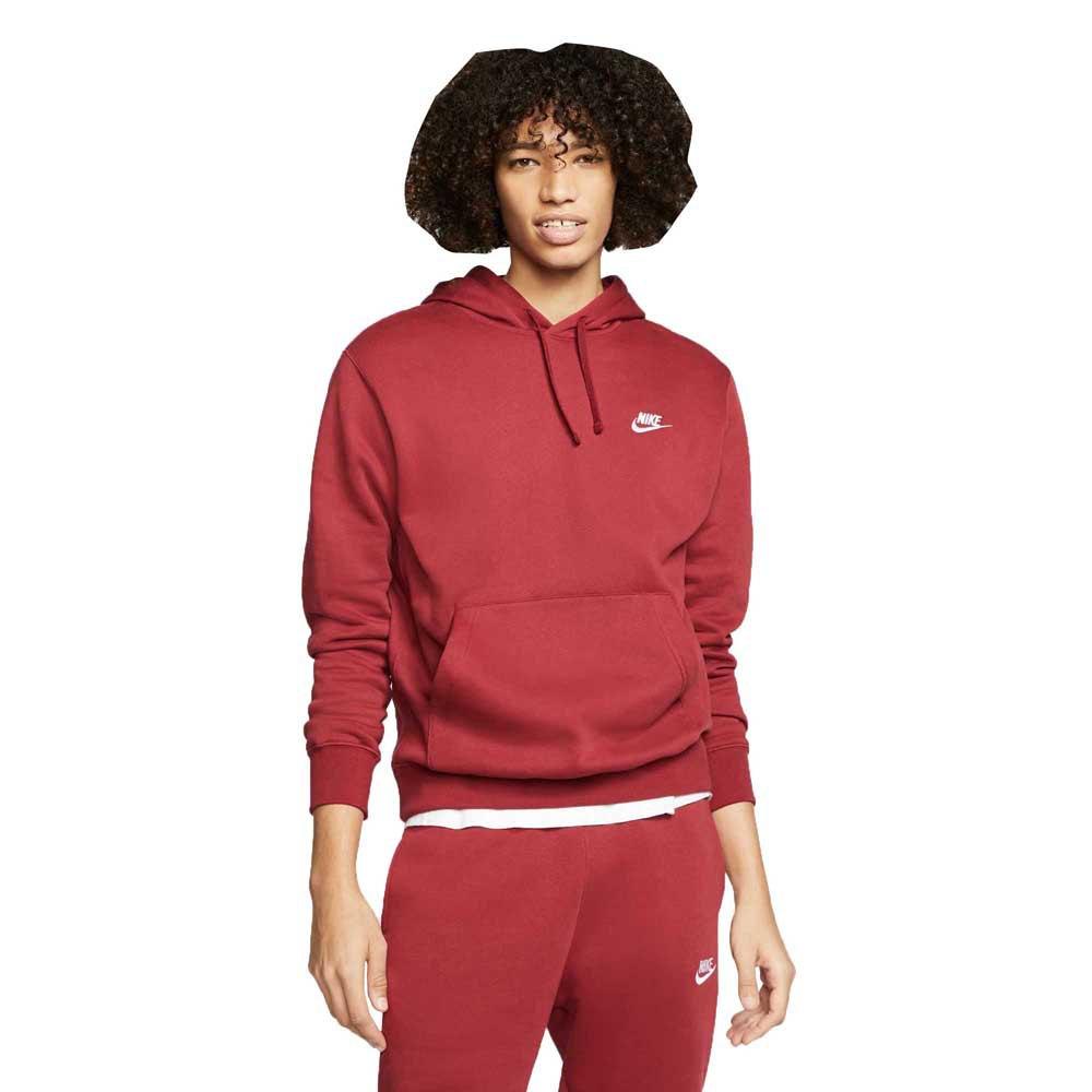 Nike Sportswear Club Fleece Po Bb L Team Red