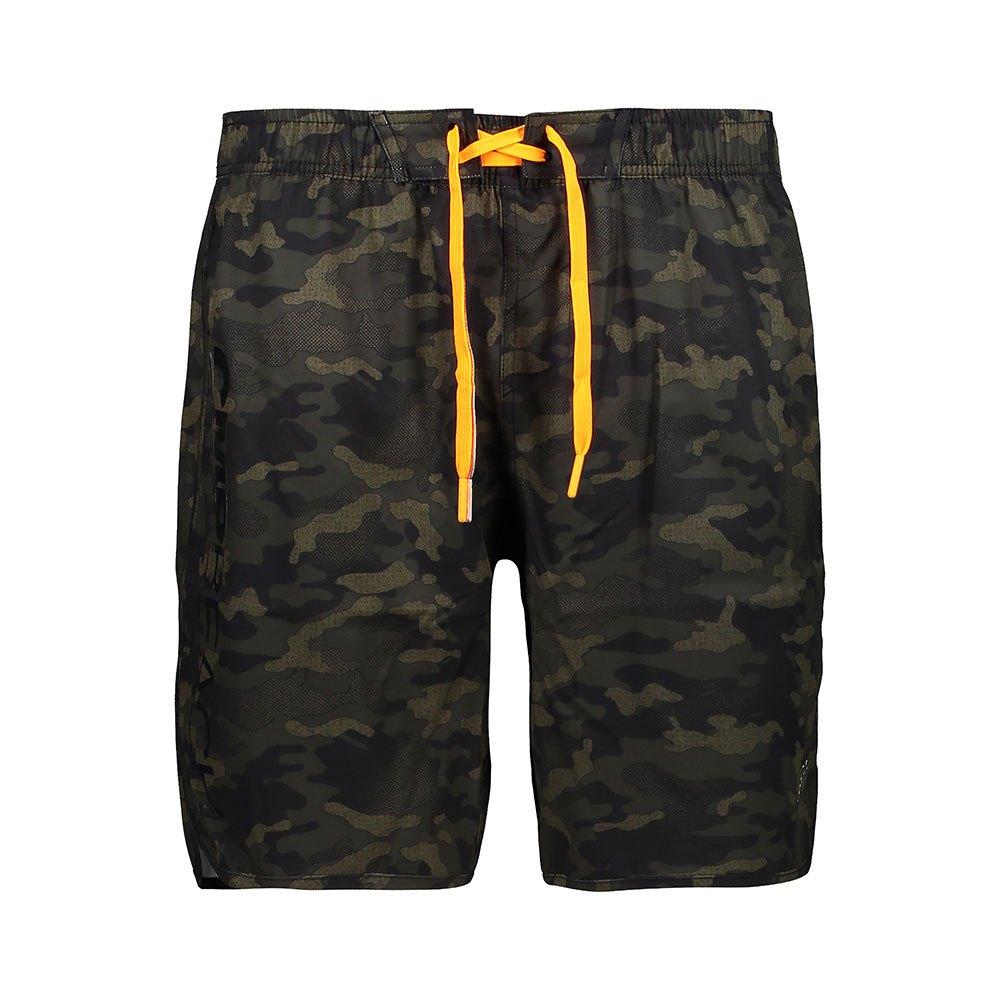 Cmp Medium Shorts XL Jungle / Moss / Black