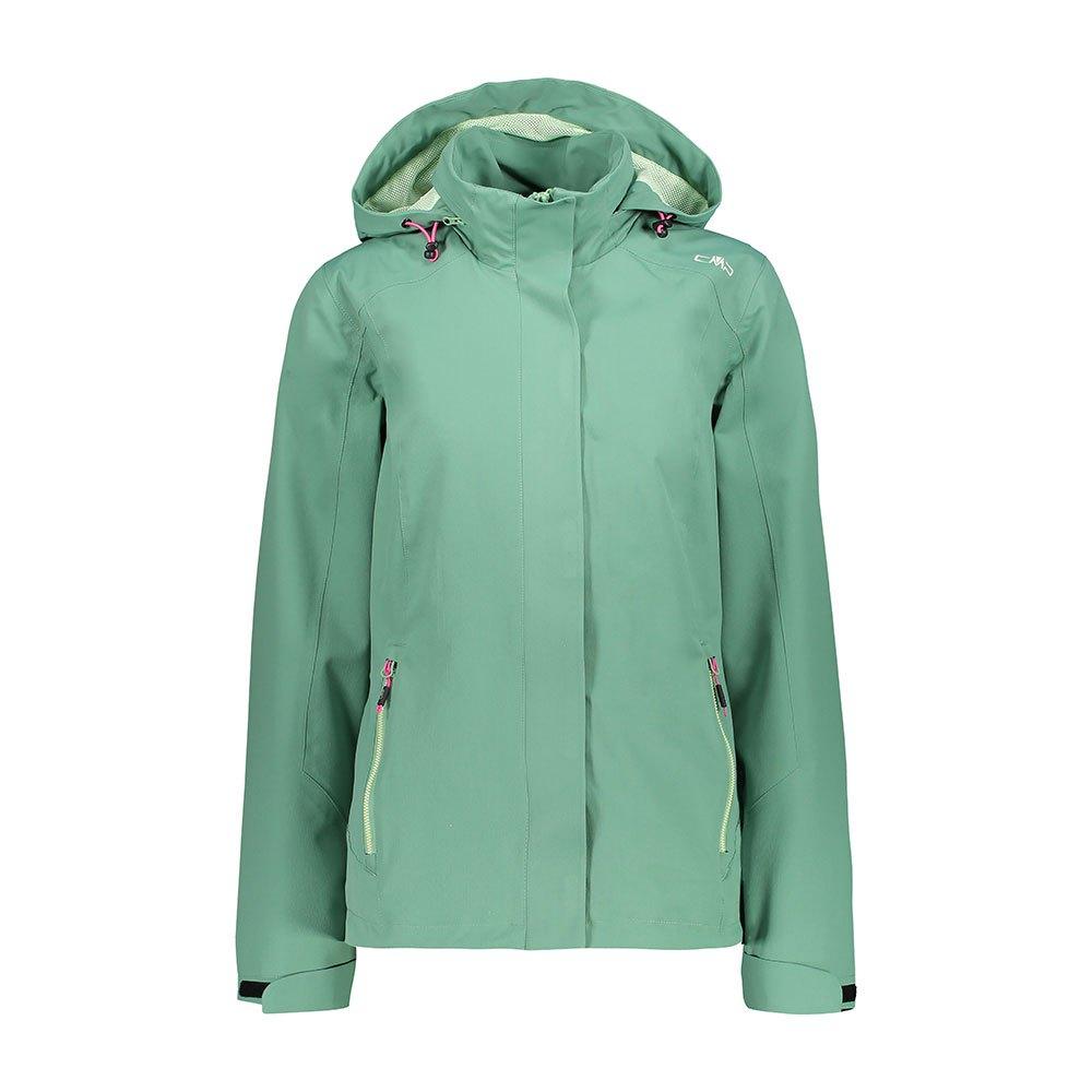 Cmp Zip Hood Jacket XXL Neptune