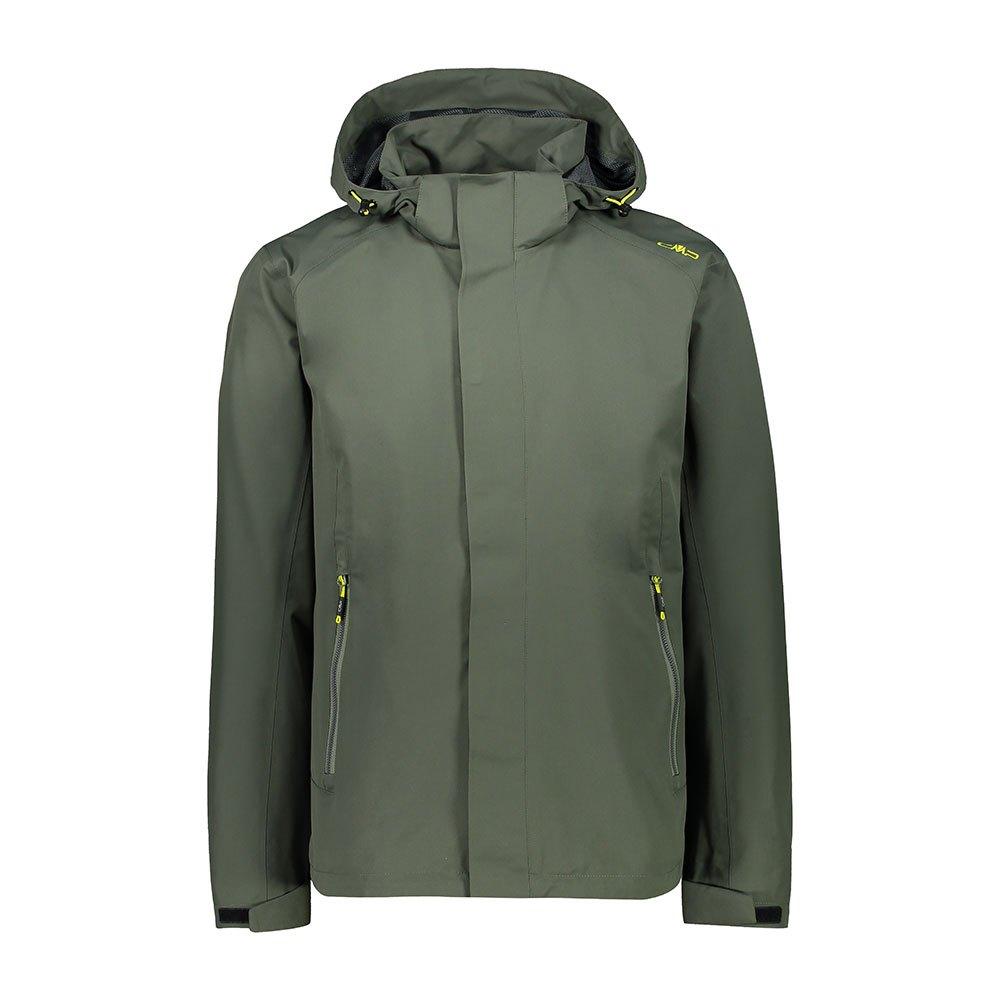 Cmp Mid Zip Hood Jacket XXL Moss