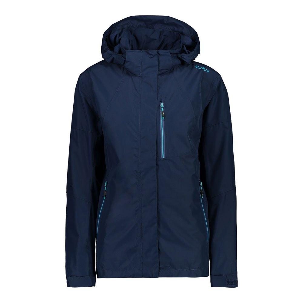 Cmp Zip Hood Jacket XXL Blue
