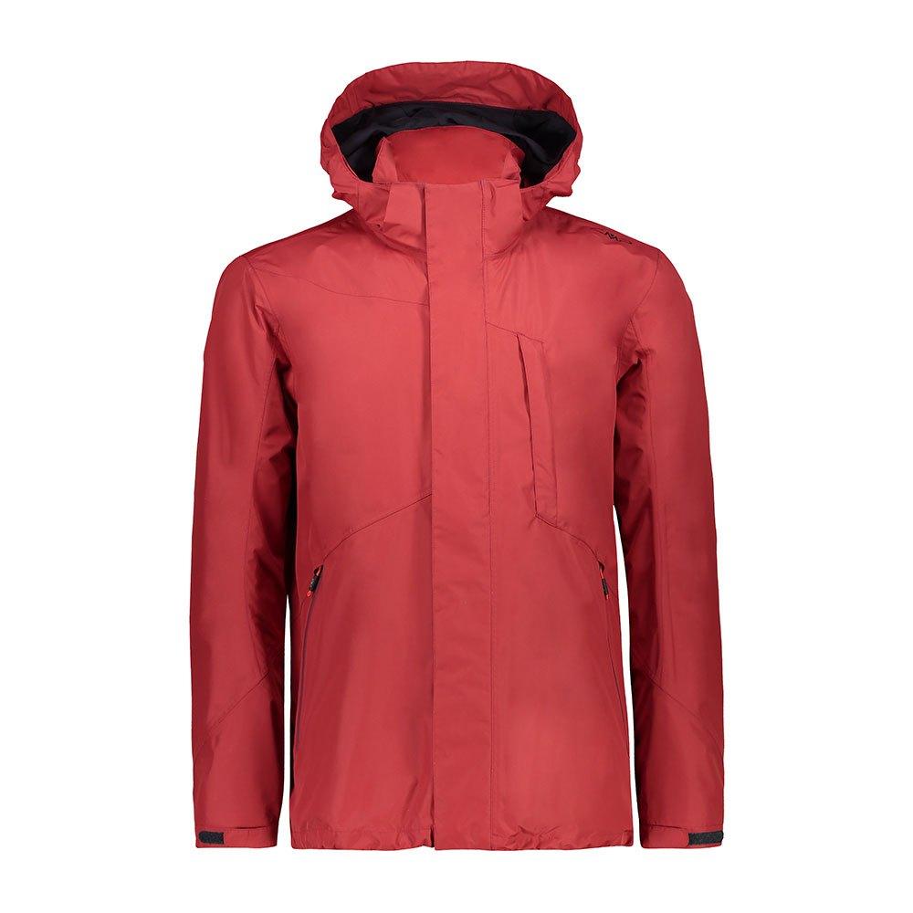 Cmp Mid Zip Hood Jacket XXL Brik