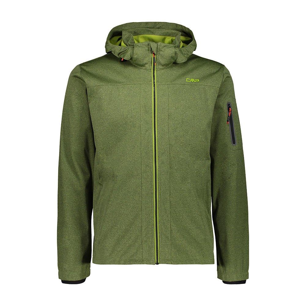 Cmp Zip Hood Jacket XXL Cactus Melange